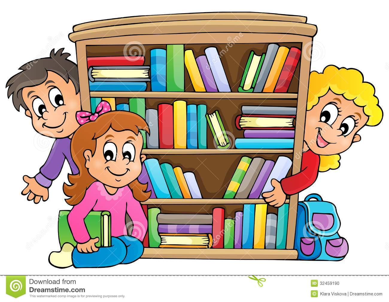 Students In Library Clipart 20 Free Cliparts