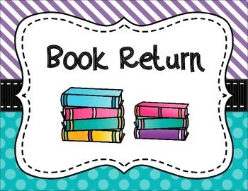 Book Return Today!.