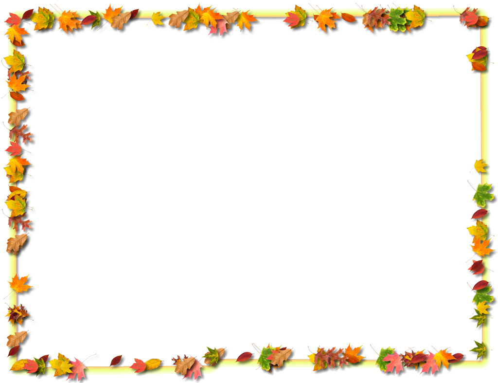 Fall Border Thanksgiving Clipart Library Free Images Png.