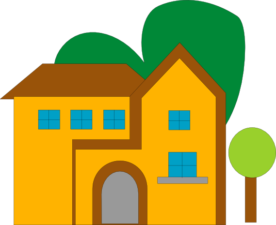 Library Building Clipart.
