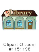 Library Building Clipart #1.