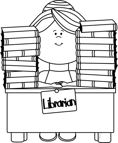 36+ Library Clipart Black And White.