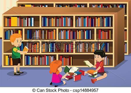 Library Clipart clip art.