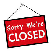 Sorry We Are Closed Clipart.