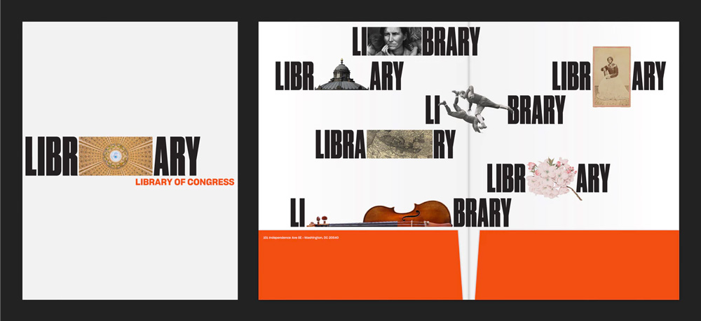 Brand New: New Logo and Identity for Library of Congress by.