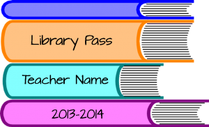 Free Library Pass.
