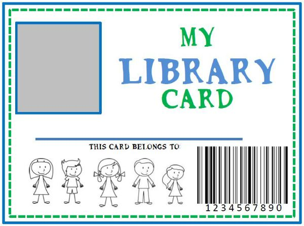 25+ best ideas about Library Cards on Pinterest.