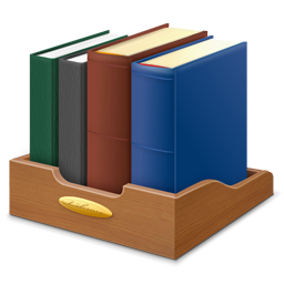 Book Library Icon.