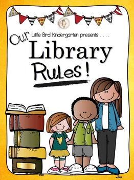 Our Library Rules! Shared Story & Slideshow {SCHOOL SITE.