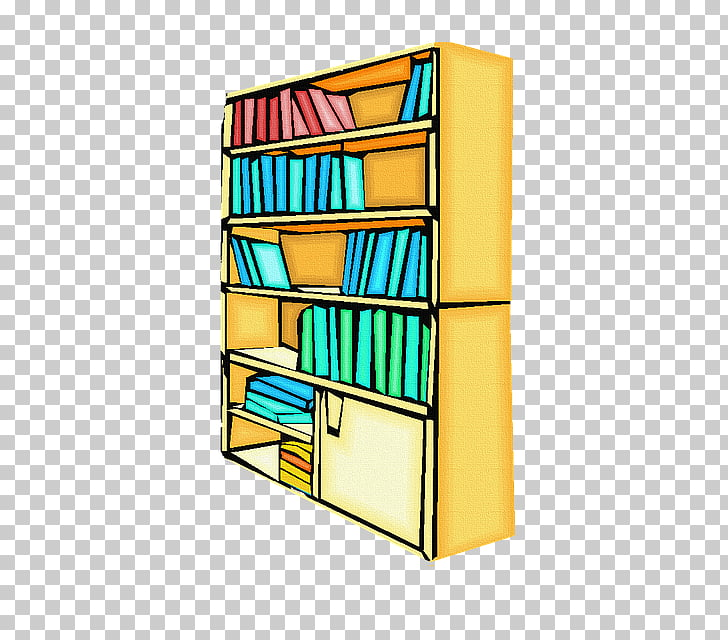 Shelf School library Bookcase, bookcase PNG clipart.
