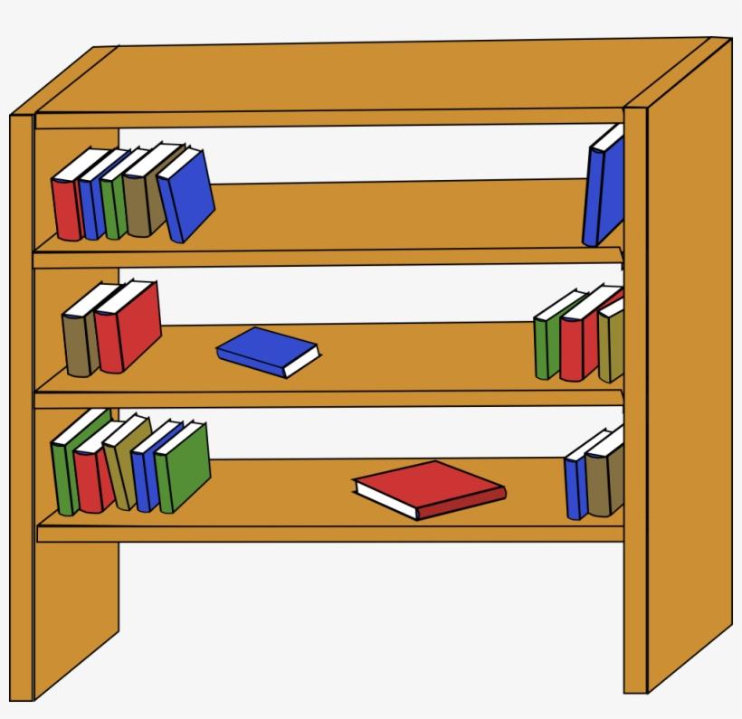 Furniture Library Shelves Books Clip Art At Clkercom.
