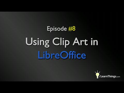 Using Clip Art with LibreOffice.