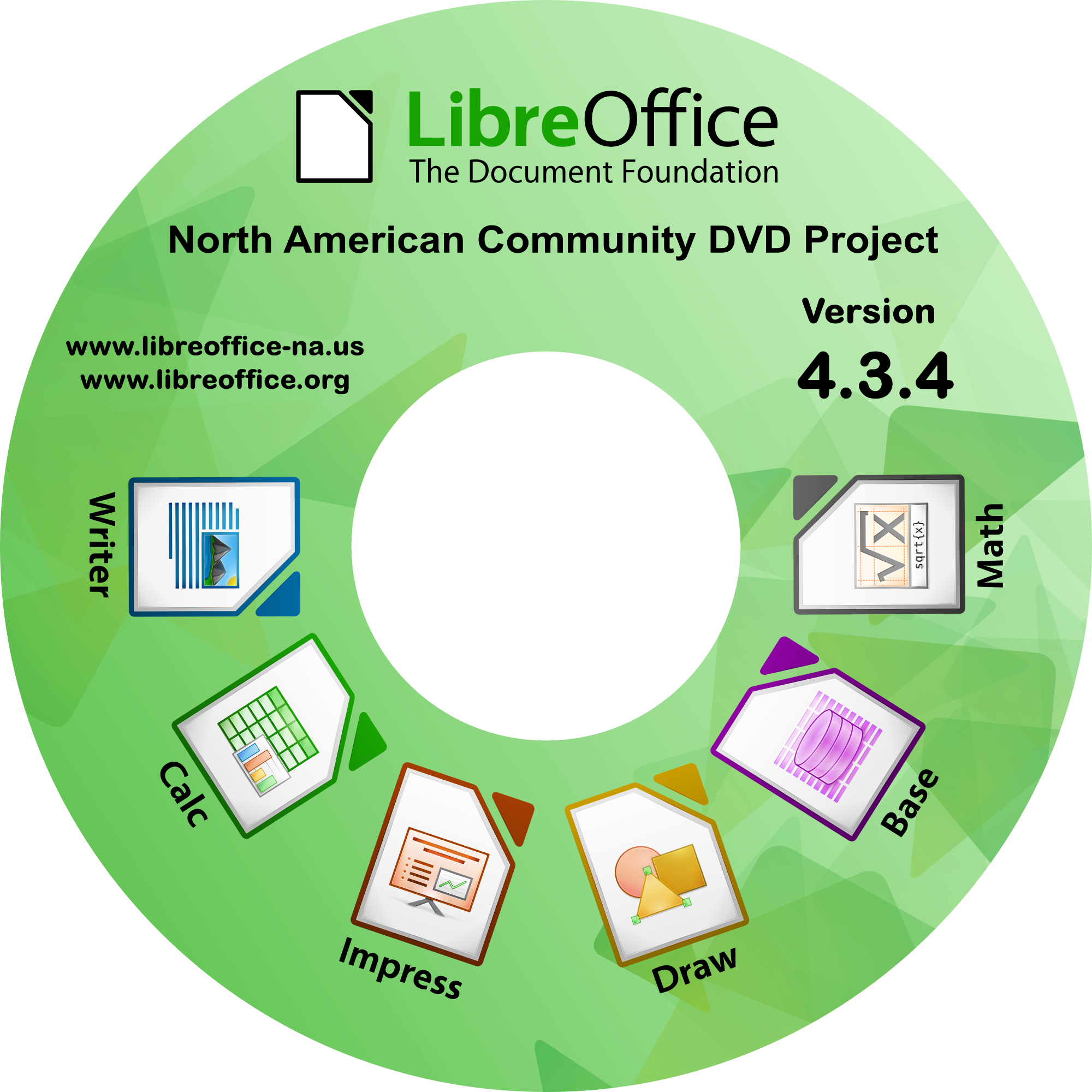 LibreOffice DVD.