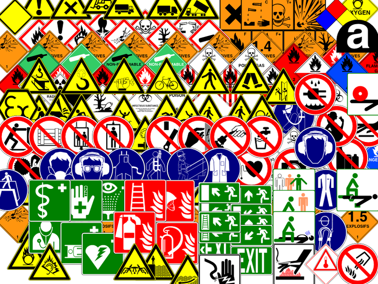 Clipart gallery of danger signs — LibreOffice Extensions and.