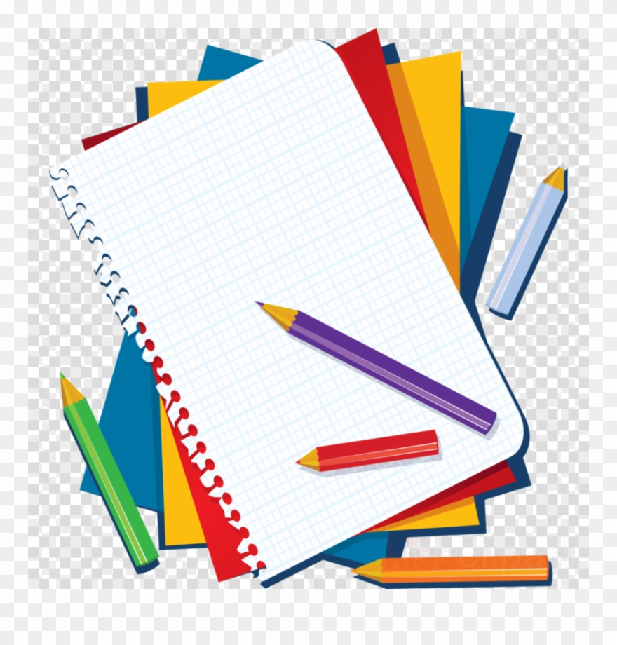 Articulos De Libreria Clipart Notebook Paper Clip Art.