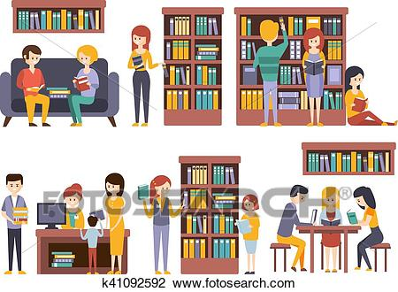 Libreria clipart 6 » Clipart Station.