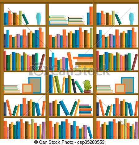 Libreria clipart 2 » Clipart Station.