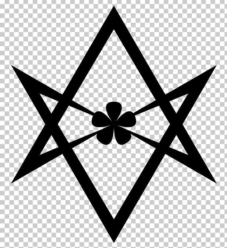 Thelema Libri Of Aleister Crowley Unicursal Hexagram Symbol.