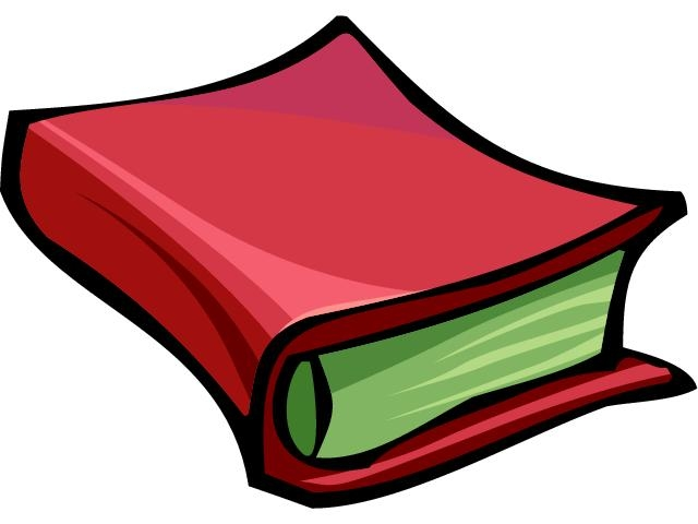 Libros clipart » Clipart Station.