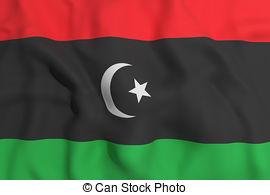 libya flag clipart #5