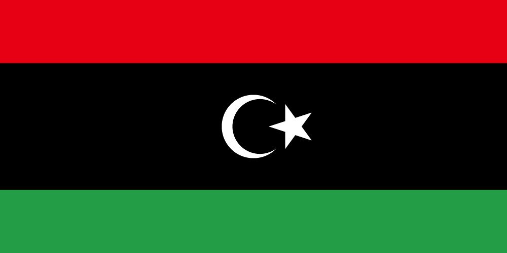 Flag of Libya image and meaning Libyan flag.