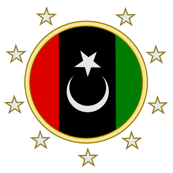Arms Of Libyan Opposition.