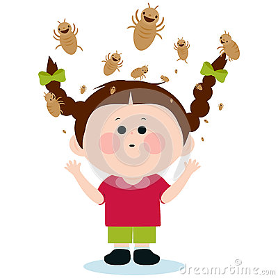 Lice Stock Illustrations.