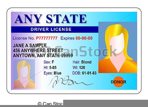 Free Drivers License Clipart.