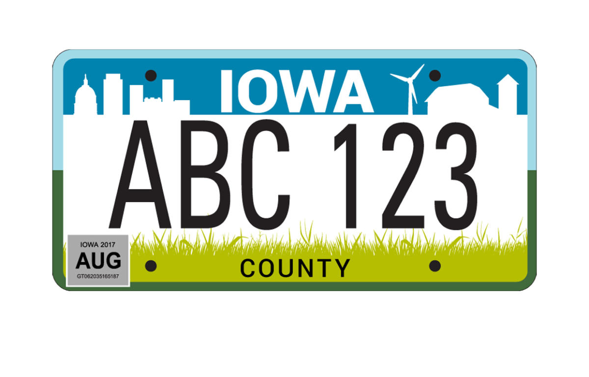 New Iowa License Plates To Be Released Soon.