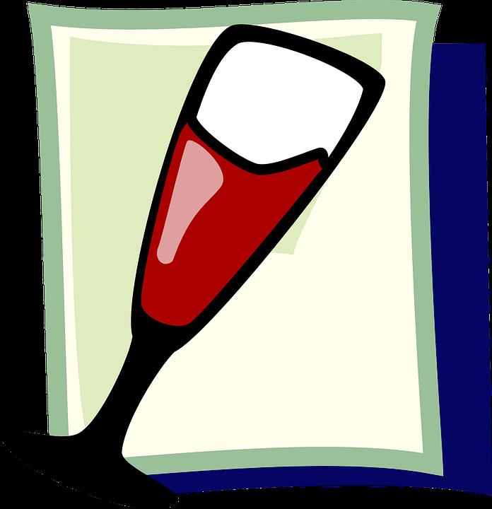Free vector graphic: Wine, Glass, Theme, Wineglass.