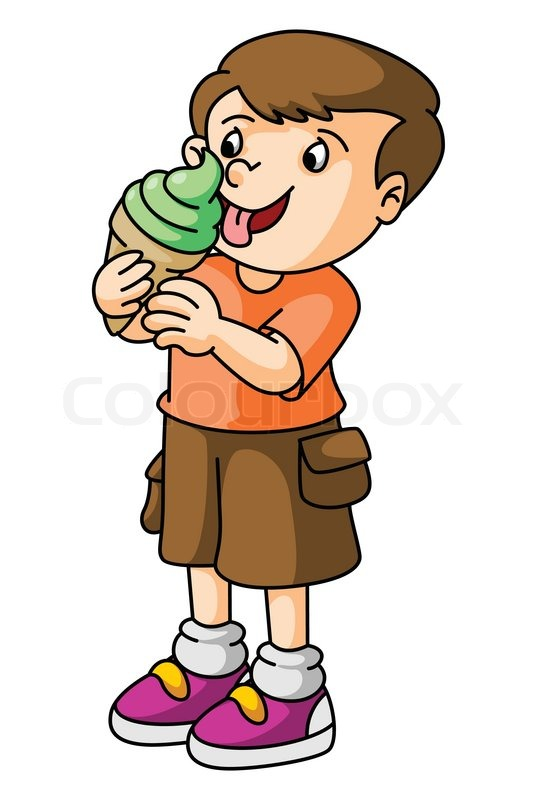 Free lick ice cream clipart.