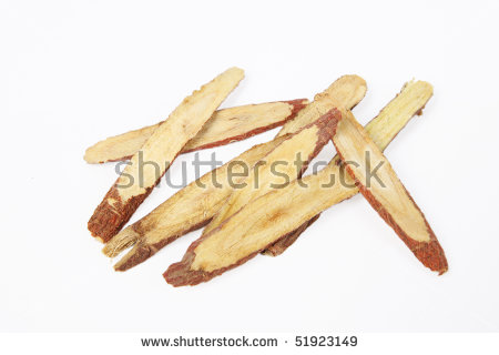 Licorice Root Stock Photos, Royalty.