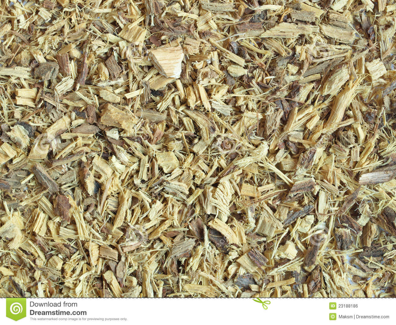 Dried Liquorice (licorice) Root Royalty Free Stock Image.