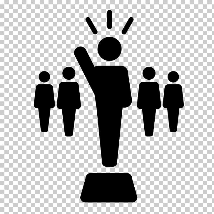 Liderazgo empresarial de desarrollo de iconos de equipo de.