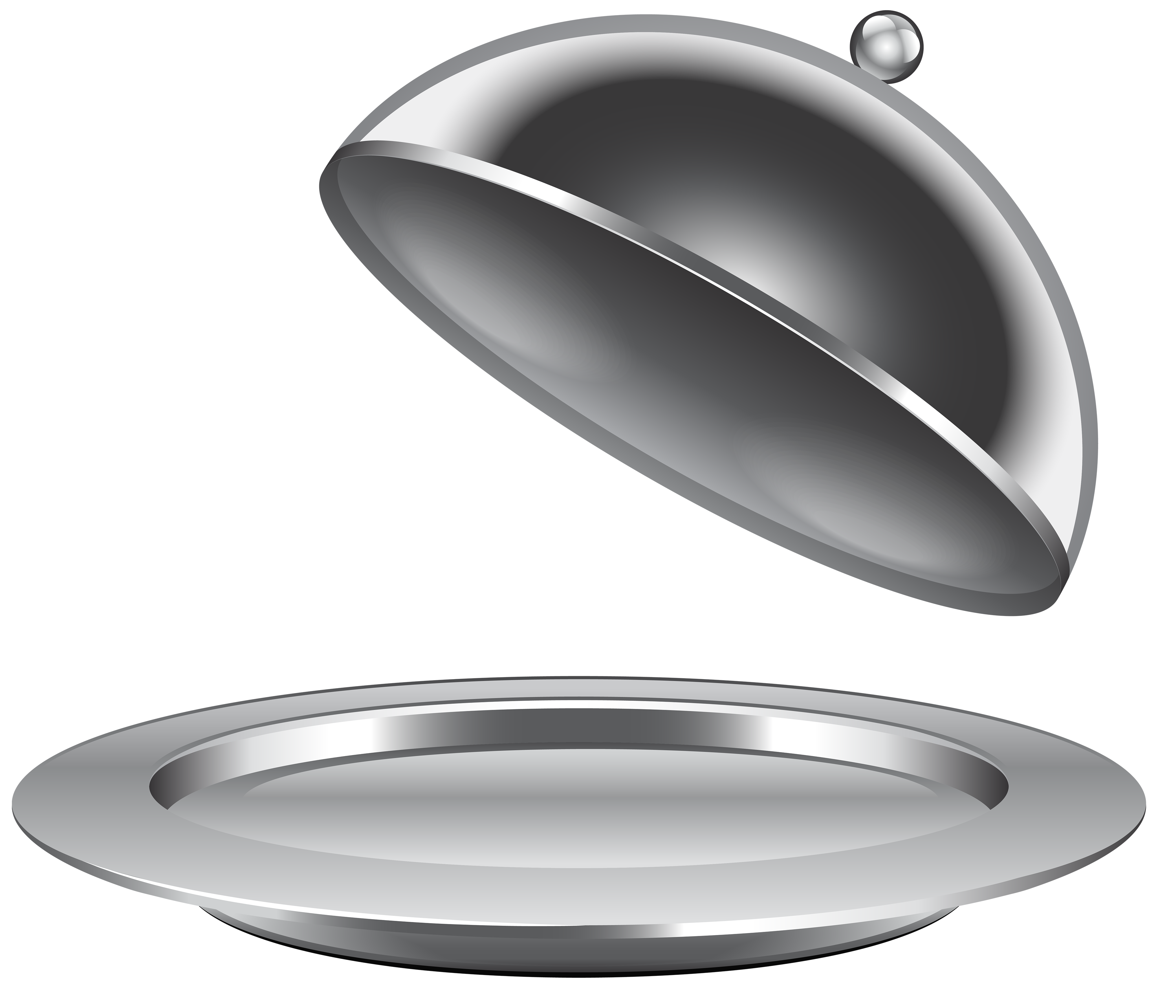 Serving Plate Clipart.