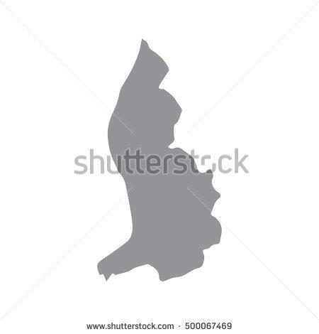 Liechtenstein black and white clipart.