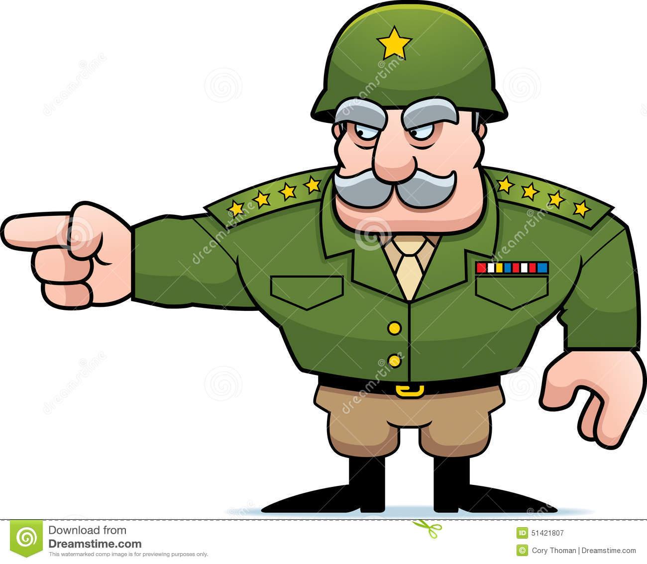 Lieutenant Cartoon.