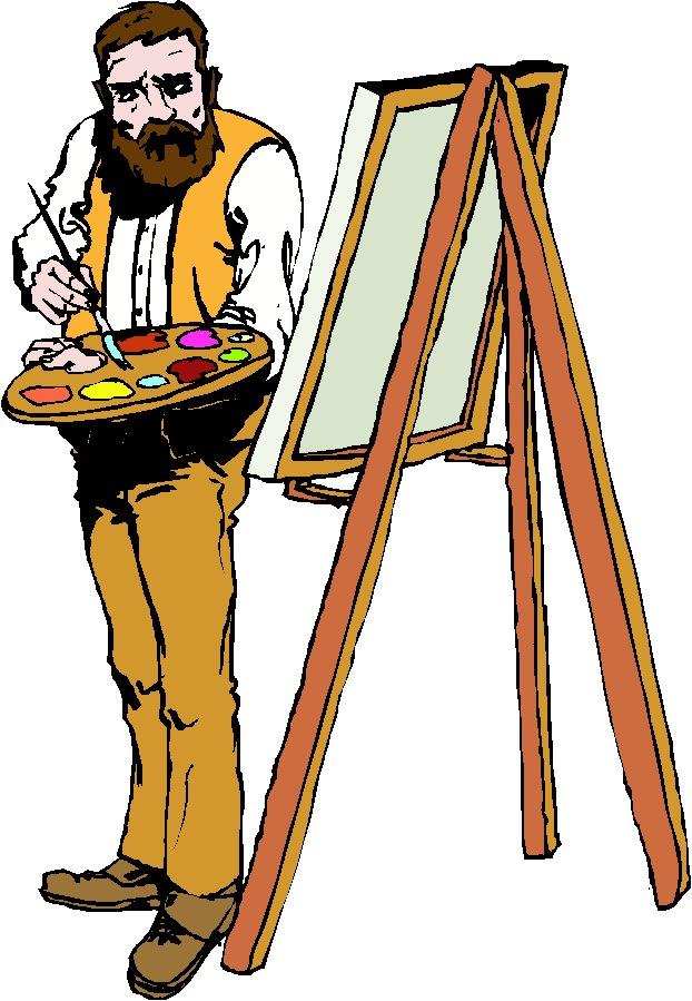 Painter Clipart.