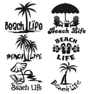 Pool Chair Palm Tree Black White Clipart Clipground
