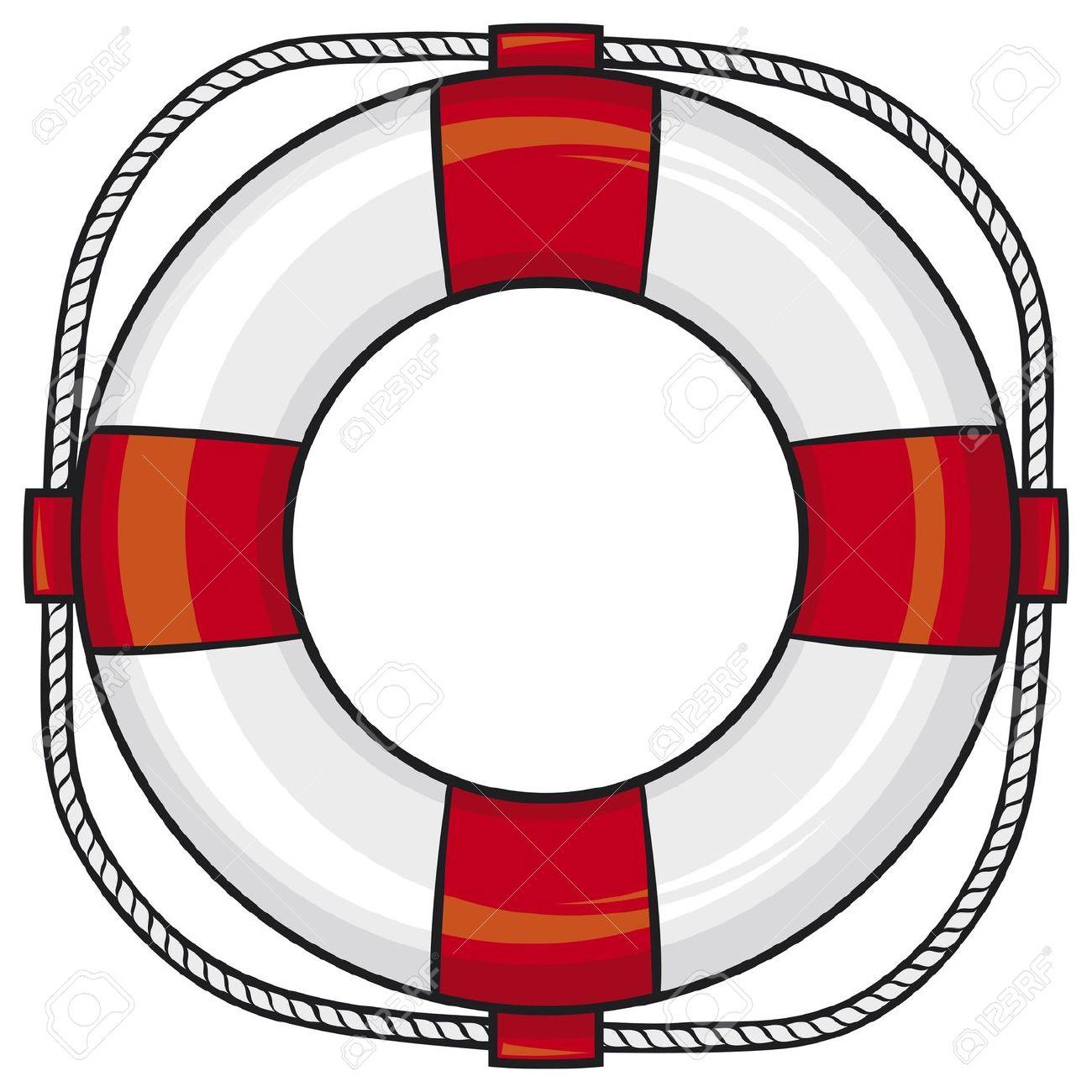 Life buoy clipart.