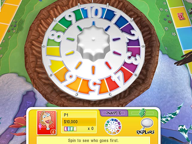Images: Life Game Wheel.