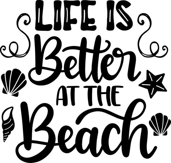 Buy 3 Get 1 FreeLife Is Better At The Beach Svg, Summer.