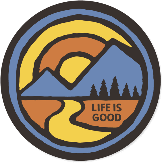 Download Life Is Good Tire Cover PNG Image with No.