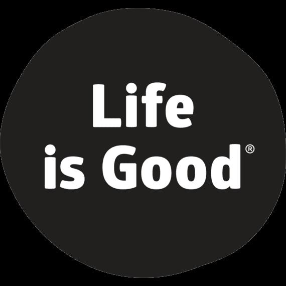 Life is Good Sticker.
