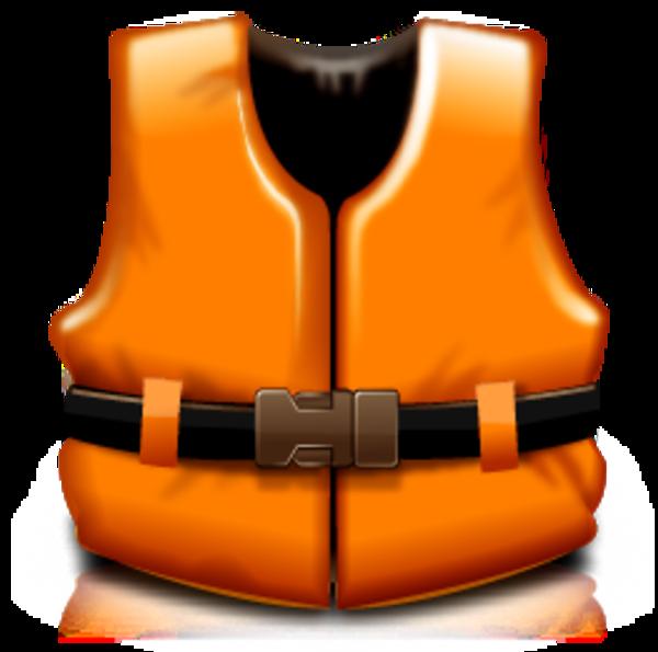 Life jacket clipart.