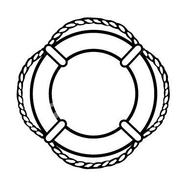 lifesaver ring nautical clipart.