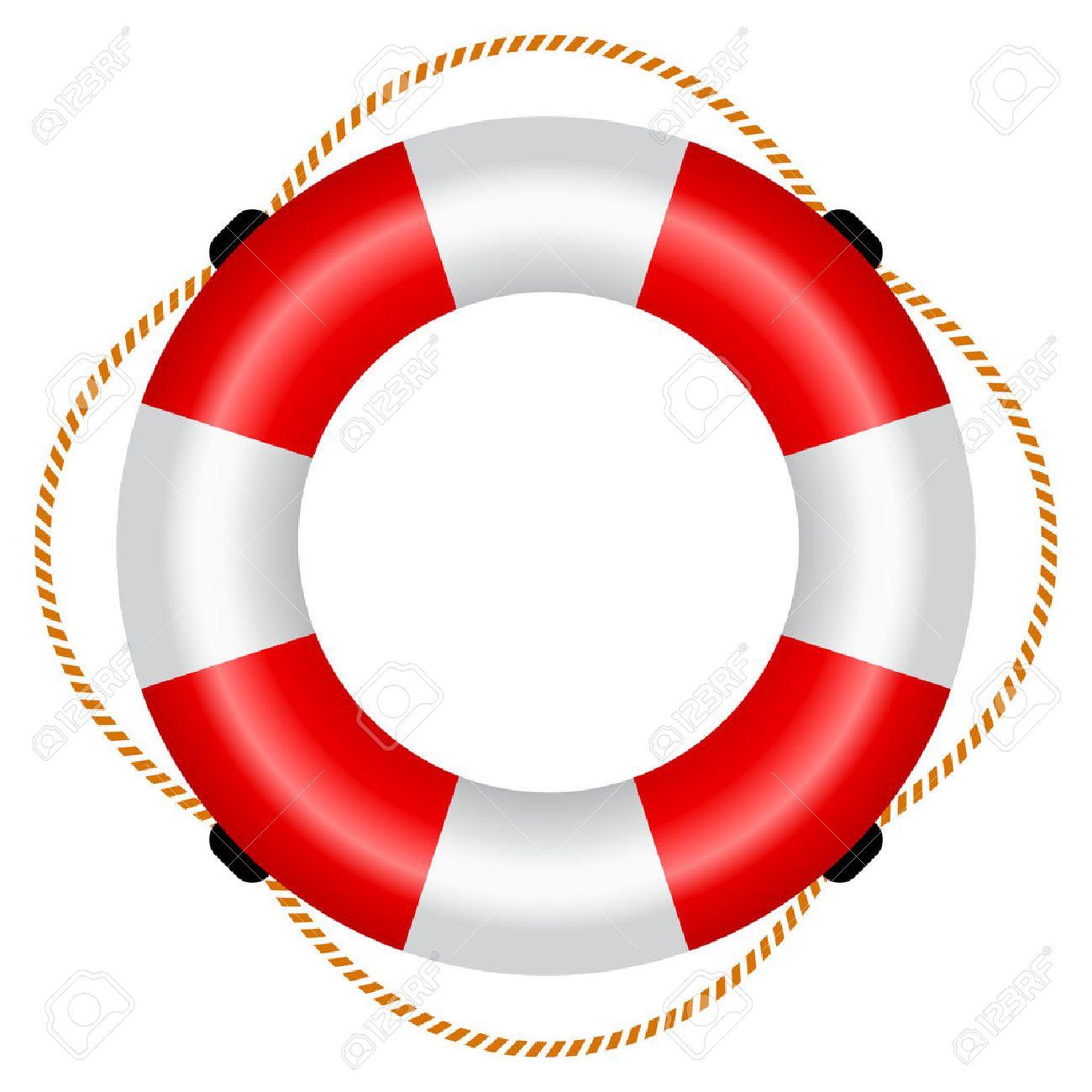 Life raft icon.