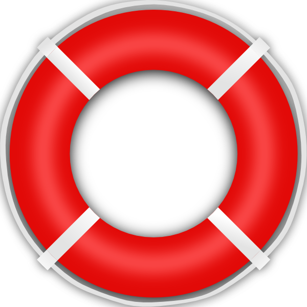 Free life saver clipart.