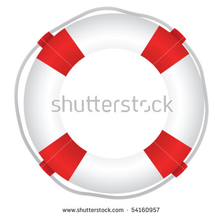 life saver ring clipart #7