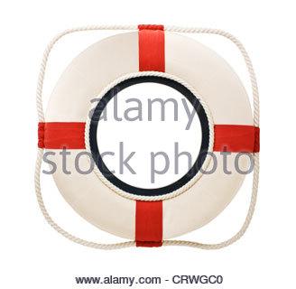 A lifebuoy, ring buoy, lifering, lifesaver, life preserver or.